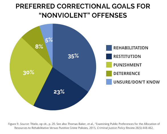 the issue of public opinion and deterrence in the justice court system This article compares the views on the purposes of sentencing of three major participants in the criminal justice system:  public opinion surveys would  issue.